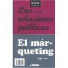 El márqueting/Las relaciones públicas