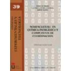 Nomenclatura en química inorgánica y compuestos de coordinación