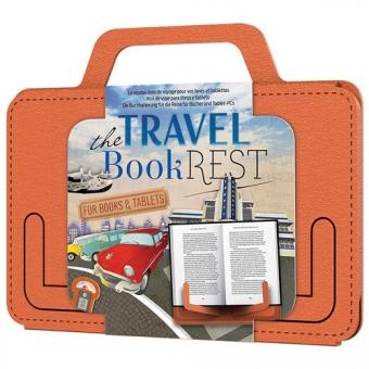 Atril Travel Book Rest City Tan/naranja