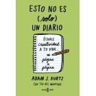Esto no es (solo) un diario, en verde. Échale creatividad a tu vida... página a página