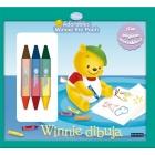Winnie the Pooh. Winnie dibuja