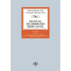 Manual de derecho mercantil. Vol I