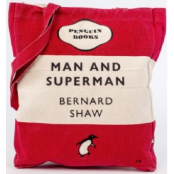 Man and Superman (Penguin Tote Bag)