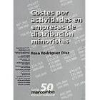 Costes por actividades en empresas de distribución minoristas