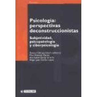 Psicología : Perspectivas deconstruccionistas