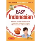 Easy Indonesian + Audio CD