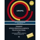 Temario oposición escala básica policía nacional. Vol II: Ciencias Sociales y Materias Técnico-Científicas