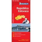 República Eslovaca (nacional-rojo) 756 1/500.000
