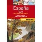 Mapa de carreteras España Sur 1/340.000
