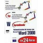 Todo Word 2000-Aprendiendo en 24 horas