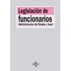 Legislación de funcionarios. Administración del Estado y local