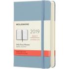 Moleskine* Agenda Diaria 12 meses Pocket (cartoné-azul ceniza)