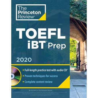 The Princeton Review - TOEFL iBT Prep 2020 (Audio-CD)