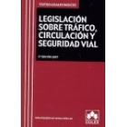 Legislación sobre tráfico, circulación  y seguridad vial