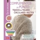 Complementos de punto tejidos en telares circulares y rectos
