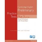 Cambridge English Preliminary. Practice Tests Plus 3 (Speaking test Multi-ROM)