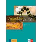 Aspekte junior C1 Medienpaket (4 Audio-CDs + Video-DVD) Mittelstufe Deutsch