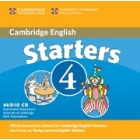 Starters 4 (Camb. Young Learnes English Tests) Audio CD