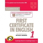 Cambridge First Certificate in English 1 for Updated Exam without answers