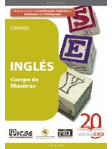 Cuerpo de maestros. Inglés. Temario (Primaria)