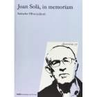Joan Solà, in memoriam