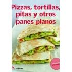 Pizzas, tortillas, pitas y otros panes planos. Cocina del mundo