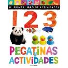 1 2 3 pegatinas y actividades