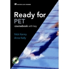 Ready for PET Coursebook (with Key) and CD-Rom Pack