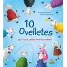 10 ovelletes. De l'1 al 10 saltant amb les ovelletes