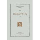 Discursos. Vol II. (Trad de Josep Vergés)