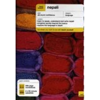 Nepali. A complete course in understanding speaking and writing. (libro más 2 cassettes)