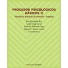 Procesos psicológicos básicos II. Manual de prácticas de memoria y lenguaje