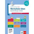Wortschatz üben: Interaktive Übungen und Spiele Deutsch als Zweitsprache in der Schule 3 CD-ROMs   Booklet