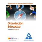 Cuerpo de Profesores de Enseñanza Secundaria - Orientación Educativa. Temario volumen 4