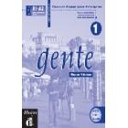 Gente 1 A1-A2 Libro de trabajo (Incluye audio CD)