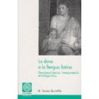 La dona a la llengua llatina: descripció léxica i interpretació etnolingüistica