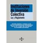 Instituciones de inversión colectiva.Ley y reglamento