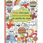Gran libro para buscar y colorear un montón de cosas