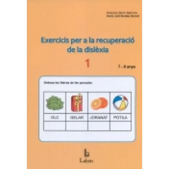 Exercicis per a la recuperació de la dislèxia-1. 7 i 8 anys