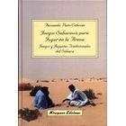 Juegos Saharauis para jugar en la arena. Juegos y juguetes tradicionales del Sáhara