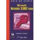 Guia de campo de Microsoft Acces 2002/2000