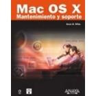 Mac Os X. Mantenimiento y soporte