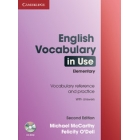 English Vocabulary in Use Elementary + CD-ROM (Second Edition)