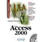 Access 2000 .Manual fundamental