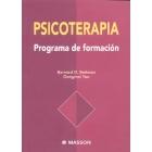 Psicoterapia. Programa de formación