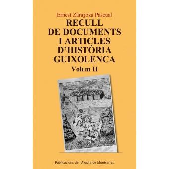 Recull de documents i articles d'Història Guixolenca. Volum II