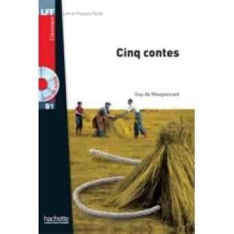 Cinq contes. Livre + CD