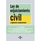 Ley Enjuiciamiento Civil 2011 (tecnos)