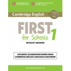 First for Schools Self-Study Pack 2015