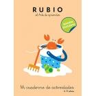 Rubio. Mi cuaderno de actividades (4-5 años)